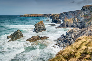'The Tide Is High' - Bedruthan Steps, Carnewas, Cornwall.