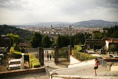 Florencja widok san minato al monte