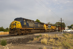 The Odd Couple (Josh 223) Tags: csx leaseunit brightfuture coaltrain freighttrain gecx ge springville provosubdivision unionpacific up train railroad railway utah