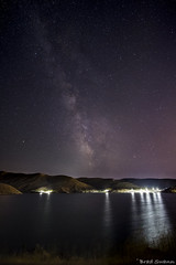 _5000081 (Brad Swann) Tags: lucky peak reservoir milky way idaho boise d500 rokinon 10mm high iso water stars lights reflection galaxy