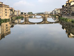 Bridges of Florence (Rick Payette) Tags: italy iphone8plus arno bridges florence
