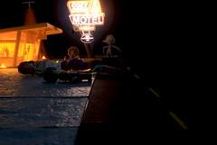Paprihaven 1421 (MayorPaprika) Tags: mini figs figure paprihaven pvc miniature smallscale figurine diorama toy story scene custom bricks plastic vinyl canoneos50d lego minifig sallyscozyconemotel disney cars precision