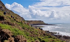 Cliff Walkers (hurlham) Tags: gower walkers ramblers cliff