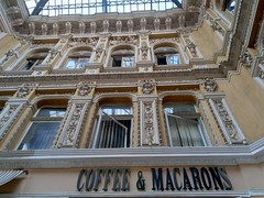 """Odessa """"Passage"""" café (oriana.italy) Tags: odessa passage gallery glassroof ceiling architecture baroque café coffeeandmacarons img20180807184741 orianaitaly byarchitectlevvlodek"""