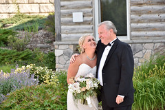 Father & Daughter (Rackelh) Tags: wedding bride fatherofthebride people celebration female male family
