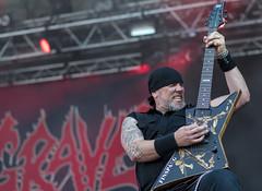 Mika Lagrén of Grave (acase1968) Tags: mika lagren grave gefle metal festival nikon d750 gavle sweden concert guitar guitarist nikkor 85mm f18g death