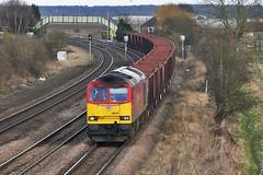 IMG_9402_1600 (Bingley Hall) Tags: uk england britain barnetby transport train transportation trainspotting rail railway railroad class60 dbschenker dbs locomotive engine diesel ironore 60079