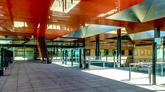 Museo Reina Sofía, edificio Nouvel (ipomar47) Tags: museo museum museoreinasofia museonacionalcentrodeartereinasofia trianguloartemadrid triangulodelartedemadrid triangulodelarte arquitectura architecture edificionouvel jeannouvel arquitectojeannouvel arquitectonouvel