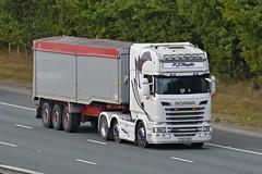PJ63 SXM (panmanstan) Tags: scania r500 wagon truck lorry commercial bulk freight transport haulage vehicle a1m fairburn yorkshire