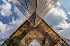 """X"" (NoVice87) Tags: london architecture bridge up sky x letter"