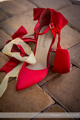 Red Wedding Shoes (Laura K Bellamy) Tags: wedding weddings details red shoes