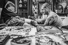 South Florida Tattoo Expo (danperezfilms) Tags: southflorida tattoo tattoist tattoartist blackandwhite coralsprings lumix gh4