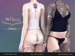 Emma (Ainadara Resident) Tags: i3f i3fco maitreya fashion original mesh event exclusive fetishfair slip panty top underwear