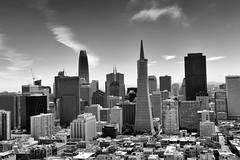 Downtown San Francisco (PeskyMesky) Tags: downtown san francisco sanfrancisco city monochrome blackandwhite canon canon6d california usa
