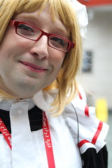 Maid - Close Up (NekoJoe) Tags: amecon amecon2018 ame ame2018 animeconvention closeup convention cosplay cosplayer coventry england gb gbr geo:lat=5237964511 geo:lon=156153381 geotagged maid midlands scott uk unitedkingdom warwickartscentre yamiscott