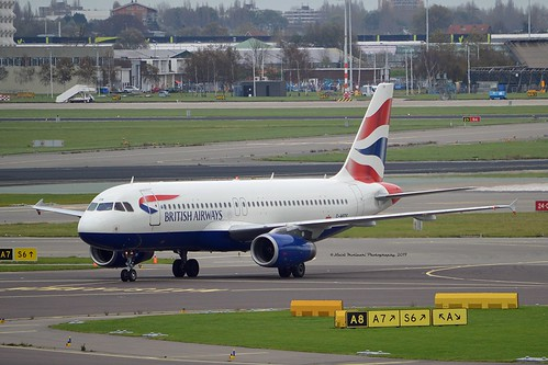 British Airways G-MIDS Airbus A320-232 cn/1424 @ EHAM / AMS 02-11-2017