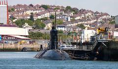 HMS Trenchant 19th May 2018 #3 (JDurston2009) Tags: hmstrenchant s91 ssn trafalgarclass attacksubmarine devon devonportdockyard plymouth royalnavy submarine warship