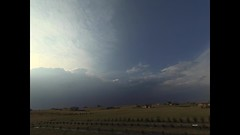 Quick Late Day T-Storm (northern_nights) Tags: timelapse thunderstom rain clouds cheyenne wyoming yi4kactioncam