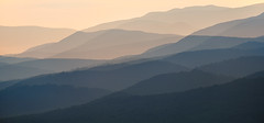 Haze In Three (SopheNic (DavidSenaPhoto)) Tags: impressionisticphotography multipleexposure xf55200 fuji newhampshire xt2 mountains haze fujifilm impressionism
