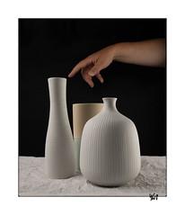 Scène 92- 3 pièces (gravelin.yves) Tags: naturemorte vide vase nikon