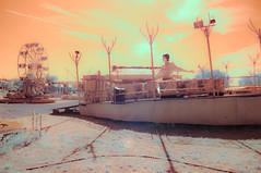 InfraBallet (RawckinºPixel) Tags: infraballet infrared ir infraredphotography irphotography photography cloud sky sun dawn morning gold greece summer kassandra chalkidiki kolarivision 590nm filter nikond90 d90 dreamworld