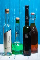 The Backdrop #2398 (svenpetersen1965) Tags: aged alcohol backdrop bottles chalkpaint shabbychic test wood bruckmühl bayern deutschland de