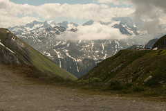 Col de la Furka (Gisou68Fr) Tags: furka furkapass coldelafurka suisse schweiz switzerland montagnes mountains neige snow juillet july 2018 nuages clouds canoneos650d