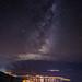 Milky way above Queenstown New Zealand