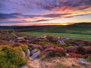 Burbage afterglow