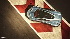 Revolutionary (WCP Edit) (polyneutron) Tags: photography pagani silver supercar racing automotive lines colors
