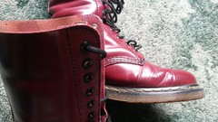 20180305_101029 (rugby#9) Tags: drmartens boots icon size 7 eyelets doc docs doctormarten martens air wair airwair bouncing soles original 14hole lace docmartens dms cushion sole yellowstitching yellow stitching dr comfort cushioned wear feet dm 14 hole cherry indoor 1914 boot footwear shoe macro
