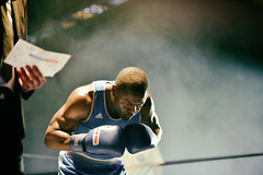 Kevin Sadjo Lele (johann walter bantz) Tags: 85mm nikond4s artofvisual composition artistic sportsphotography sportler sport sports athletic france compétition ring gloves championat fight combat boxer boxing boxe kevinsadjolele