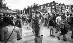 Pride Amsterdam 2018 (neilsonabeel) Tags: olympusxa2 olympusxa olympus film analogue blackandwhite amsterdam gaypride parade netherlands europe