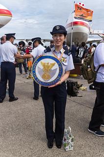 航空自衛隊女性自衛官 001