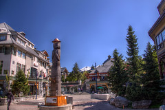 Whistler (pbr42) Tags: canada britishcolumbia hdr building architecture sky outdoor town totem whistler