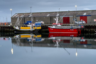 Orkney: Colourful boats (2/6)