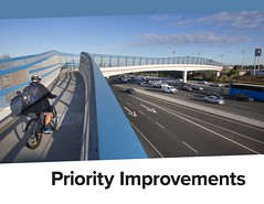 cover of priority improvements chapter (citymaus) Tags: caltrans d4 district 4 sanfrancisco bayarea sf bike plan urbanplanning transportation active bicycle cycling cycleinfrastructure highway highways planning 2018 blue bridge overpass pedestrian overcrossing freeway south bay