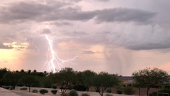 Sunset Lightning_3 (northern_nights) Tags: sunset lightning iphone video frame vail arizona