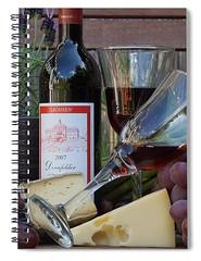wine-bottle-carlene-smith (Fine Arts Designer) Tags: notebook notebooks writing write stationaery paper spiral