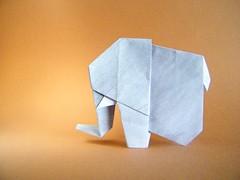 Paper Pachyderm - Marc Kirschenbaum (Rui.Roda) Tags: origami papiroflexia papierfalten elefante elephant paper pachyderm marc kirschenbaum