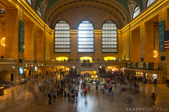 Rush Hour Ghosts (Snappy_Snaps) Tags: newyorkstate usa newyork newyorkcity grandcentralstation grandcentral trainstation rushhour commute nyc crowds historicbuilding landmark grandcentralterminal