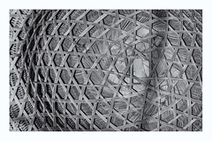 inside out (alamond) Tags: bamboo hat helmet handmade art bw blackandwhite monochromatic lines canon 7d markii mkii llens ef 70300 f456 l is usm alamond brane zalar thai thailand texture