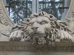 Things I see while riding my bike around Paris 809 (Rick Tulka) Tags: paris architecture building basrelief sculpture lion aslan