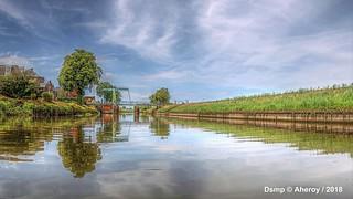 Apeldoornsch Kanaal,Hattem ,Gelderland,the Netherlands