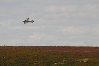 Lancaster Banking Over Beeley Moor