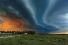 Last Light Nebraska (Matt Granz Photography) Tags: storm sunset stormfront gustfront squallline shelfcloud cloud stormy farm rural nebraska chaser tour nikon mattgranz