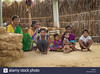 hampi-india-31-january-2015-rural-indian-family-sitting-on-ground-H0333X (Matriux2011) Tags: barefoot dirtysoles cracksoles indian nepali barefootextreme talonescurtidos piesrajados