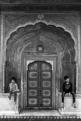 With little sister (Rk Rao) Tags: bw blackandwhite sister brother texture palace royal abstract monochrome people portrait fineart fineartphotography art artistic travel incredibleindia beauty design friends naturallight rkrao radhakrishnaraoartist rkclicks jaipur rajasthan india