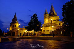Fishermans Bastion (Russ Dixon Photography) Tags: hungary budapest europe city architecture river landmark travel hungarian building urban famous old road buda historic european heritage pest historical history fishermansbastion