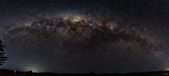 Night Sky Pano [Wiararapa] (Robert Brienza) Tags: 2018 canon7d masterton newzealand nightphotography nightsky rural wairarapa winter milkywaygalaxy panorama canon1022 wideanglelens
